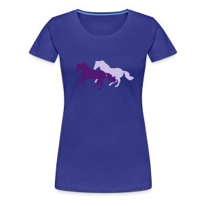 Galloping Horses - Women's Premium T-Shirt