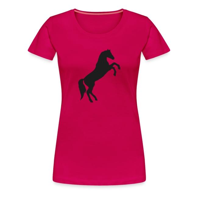 Wild Horse Black Glitter T-Shirt