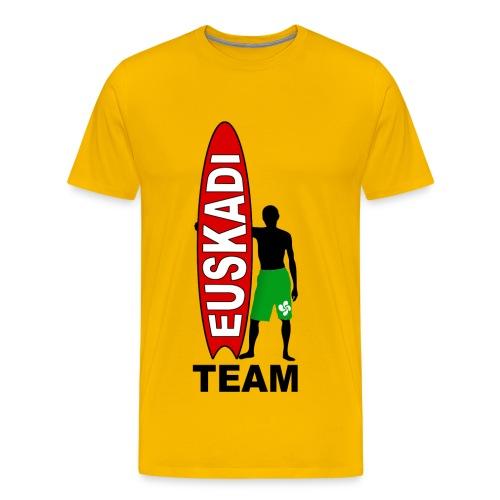 Euskadi surfing - Men's Premium T-Shirt