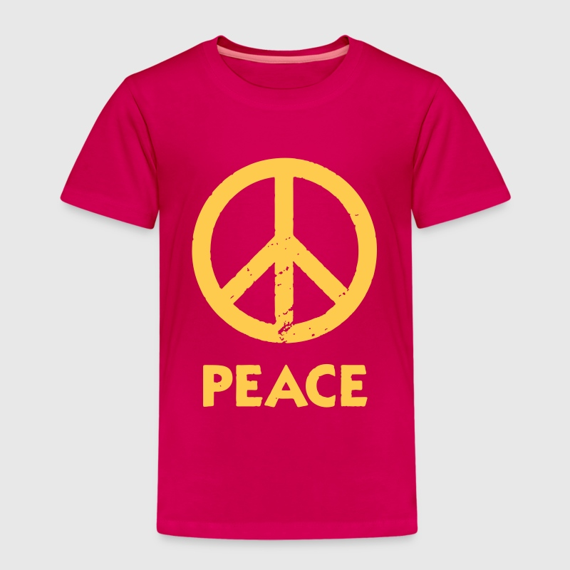 Kinder-T-Shirt Peacezeichen - Kinder Premium T-Shirt