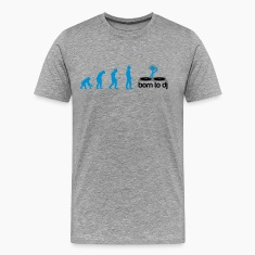 DJ Evolution - Born to DJ T-shirts