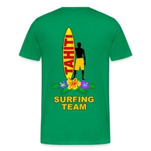 tahiti surfing team - Men's Premium T-Shirt