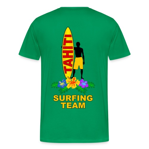 tahiti surfing team - Men's Premium T-Shirt