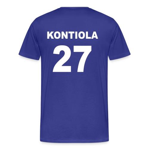 Petri Kontiola 27 t-paita - Miesten premium t-paita