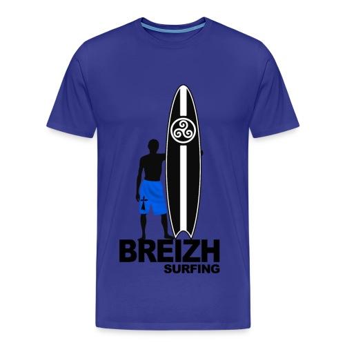 Breizh Bretagne surfing - Men's Premium T-Shirt
