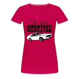 Greatest Muscle Car - Javelin - Premium T-skjorte for kvinner
