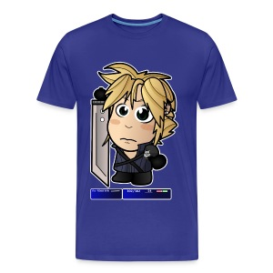 Chibi Cloud - FF7 Shirt (Male) - Men's Premium T-Shirt