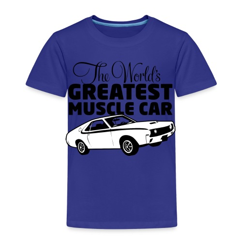 Greatest Muscle Car - Javelin - Premium T-skjorte for barn