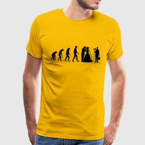 Evolution Wedding Tee shirts - T-shirt Premium Homme