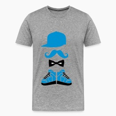 snapback hitops moustache bowtie Tee shirts