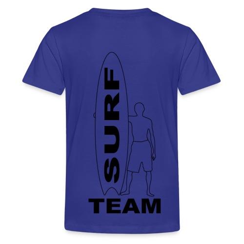 Surfing fashion team - Teenage Premium T-Shirt