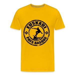Euskadi - basque surfing - Men's Premium T-Shirt