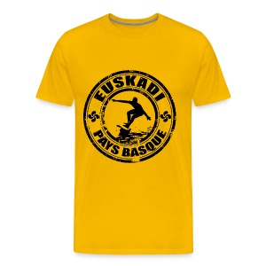 Euskadi - basque surfing - Men's Premium T-Shirt