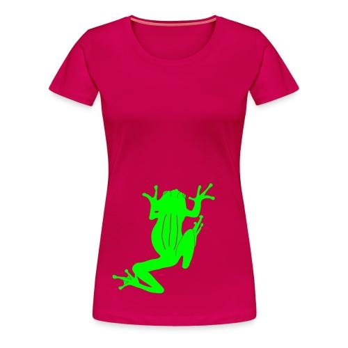 Climbing Tree Frog - Women's Premium T-Shirt