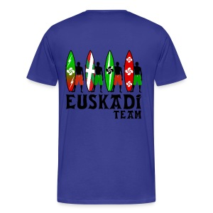 Euskadi surfing team - Men's Premium T-Shirt
