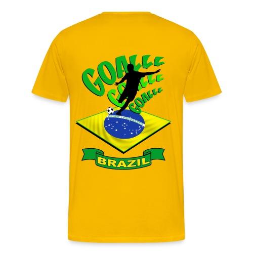 Brésil - Brazil - Men's Premium T-Shirt