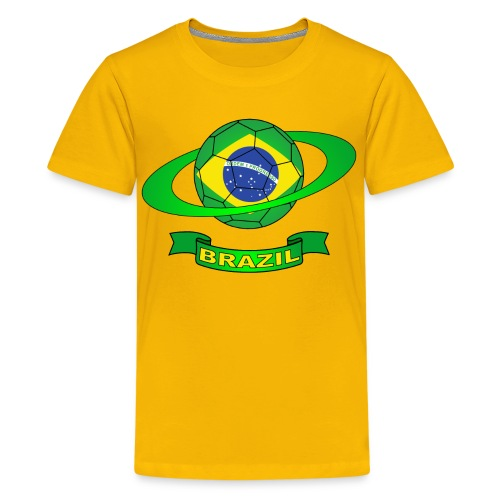 Brazil - brésil - Teenage Premium T-Shirt