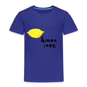 lemon love.png Shirts - Kids' Premium T-Shirt