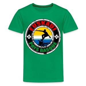 Pays Basque surfing team - Teenage Premium T-Shirt