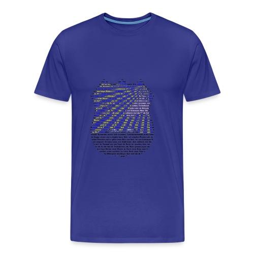 Die Steppe zittert - Männer Premium T-Shirt