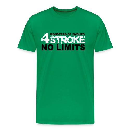 4 Stroke - No Limits - Männer Premium T-Shirt
