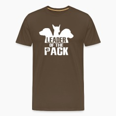 Leader of the pack - 3 dogs T-Shirts