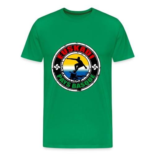 Pays Basque surfing team - Men's Premium T-Shirt