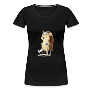Hoppity Extra Large Lady - Women's Premium T-Shirt