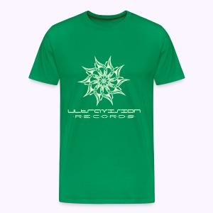 Ultravison glow in the dark front - Mannen Premium T-shirt