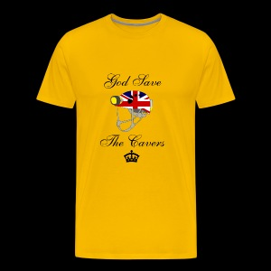 God save the Cavers - Maglietta Premium da uomo