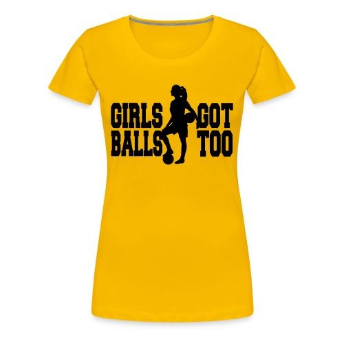 YB Girls - Frauen Premium T-Shirt
