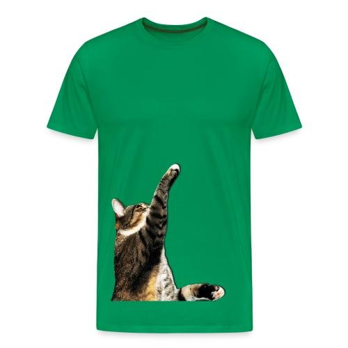 Katzenmännershirt - Männer Premium T-Shirt