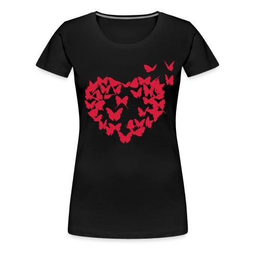 Frauen Premium T-Shirt - Damen,Herz,Liebe,Shirt