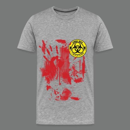 Zombie Wear Bloody  - Männer Premium T-Shirt