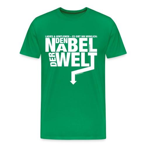 Der Nabel der Welt - Männer Premium T-Shirt