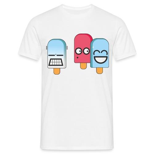 Funny Popsicles T-Shirt #6 - Men's T-Shirt