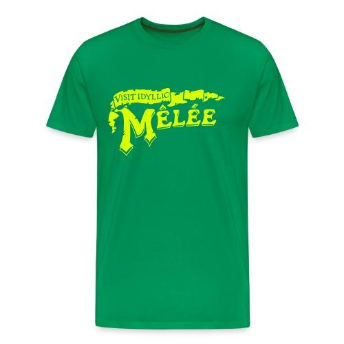 Visit Melee - Männer Premium T-Shirt