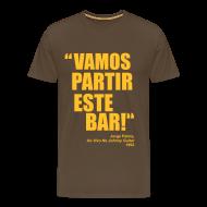 T-Shirts ~ Men's Premium T-Shirt ~ Vamos Partir Este Bar!