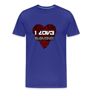 I-love Gaming Shirt - Männer Premium T-Shirt