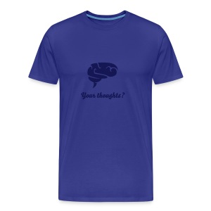Thoughts - Men's Premium T-Shirt