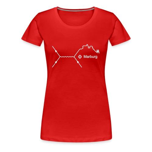 Frauen Girlieshirt (Aufdruck schwarz) - Frauen Premium T-Shirt