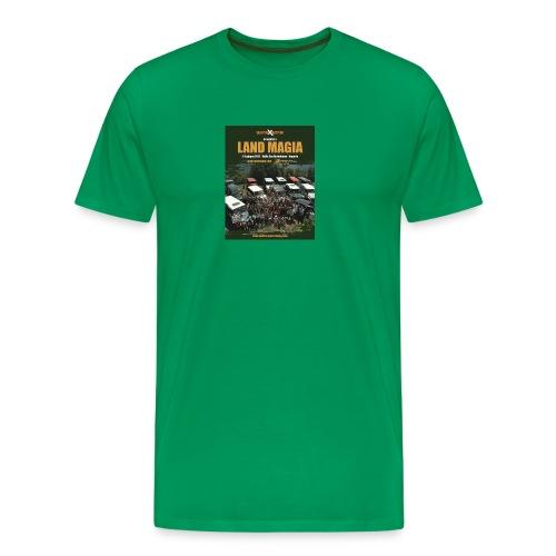 Landmagia Story 2012 - Only Green - Maglietta Premium da uomo