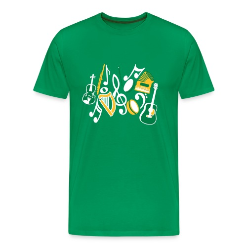 TTT Irish Music Fan - Men's Premium T-Shirt