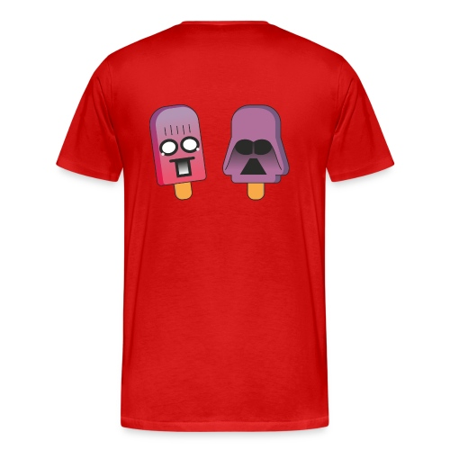 Funny Popsicles T-Shirt #8 - Men's Premium T-Shirt