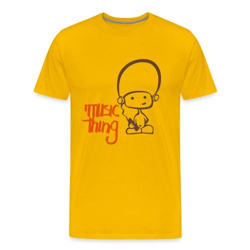 Music Thing loves Beatz - Männer Premium T-Shirt