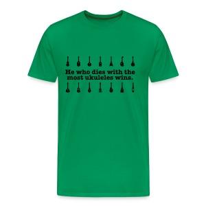 Ukulele T- shirt - dark print - Men's Premium T-Shirt