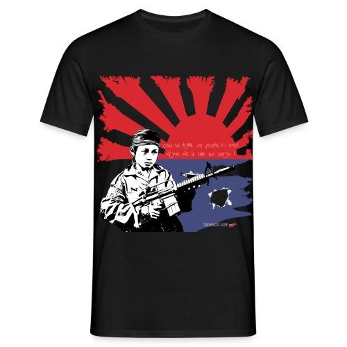 T-SHIRT standard homme enfants soldats Karens NOIR - T-shirt Homme