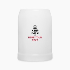 KEEP CALM AND... Write your text ! Bottles & Mugs