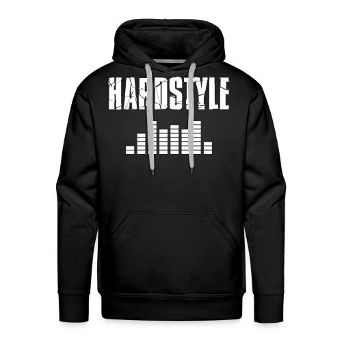 Hardstyle Pullover with big logo - Men's Premium Hoodie