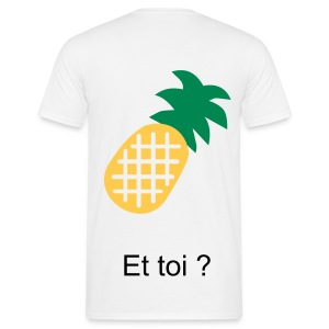Je suis - Ananas - T-shirt Homme